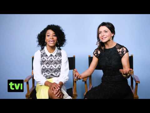Grey's Anatomy 2015! Caterina Scorsone! Kelly McCreary! TCA!