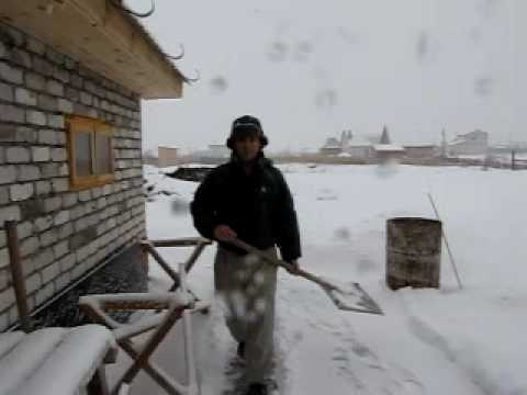 Learning to shovel snow in Kazan