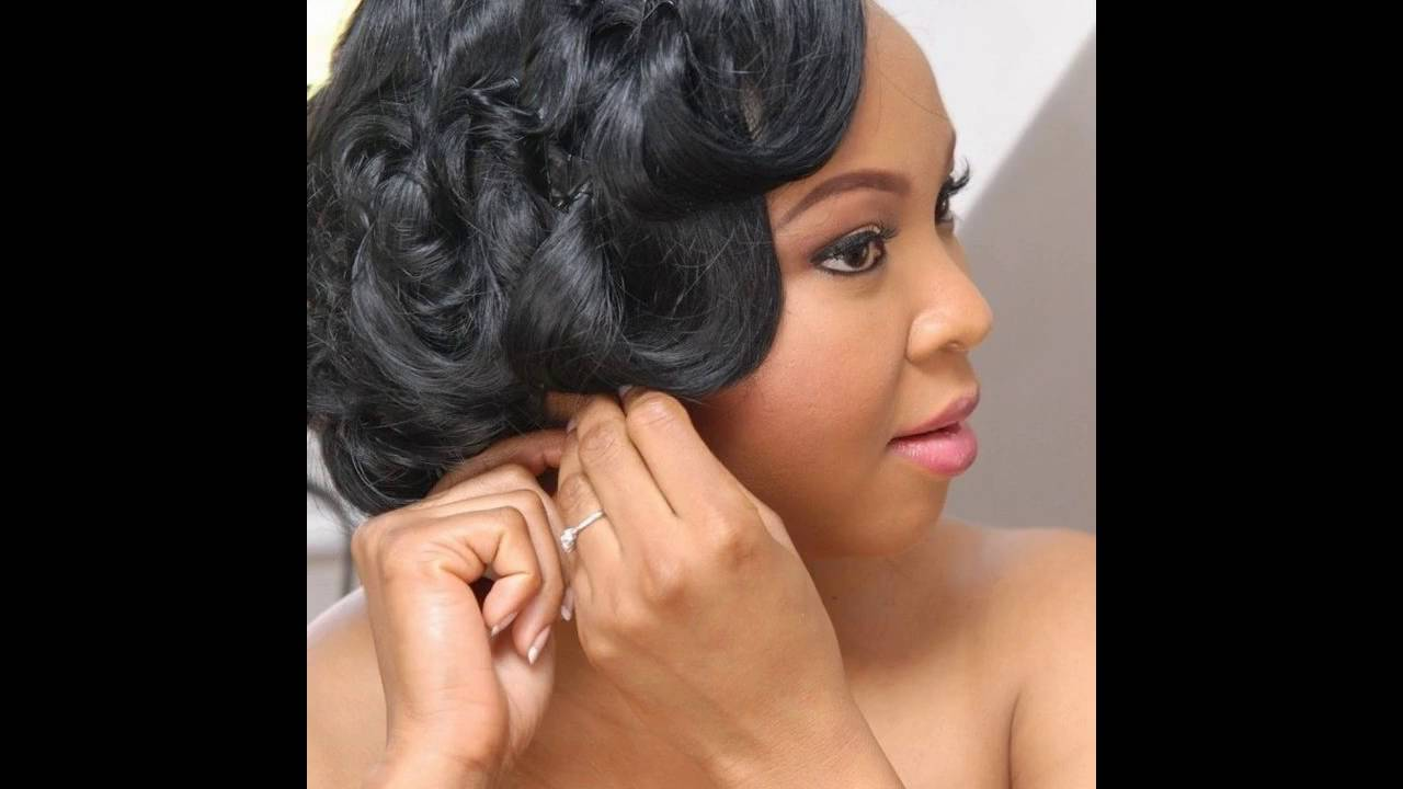 Best Black wedding hairstyles pictures - YouTube