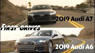 It's a twofer today. we trekked to napa sample the all-new 2019 audi a6 and a7. luxury c-segment is an interesting space. shoppers below...