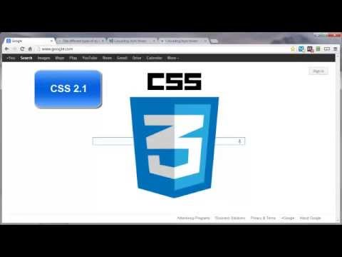 Introduction To CSS & CSS3