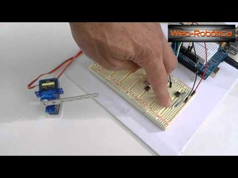 "Tutorial Arduino, ""Brazo robótico"" con servomotores paso a paso"