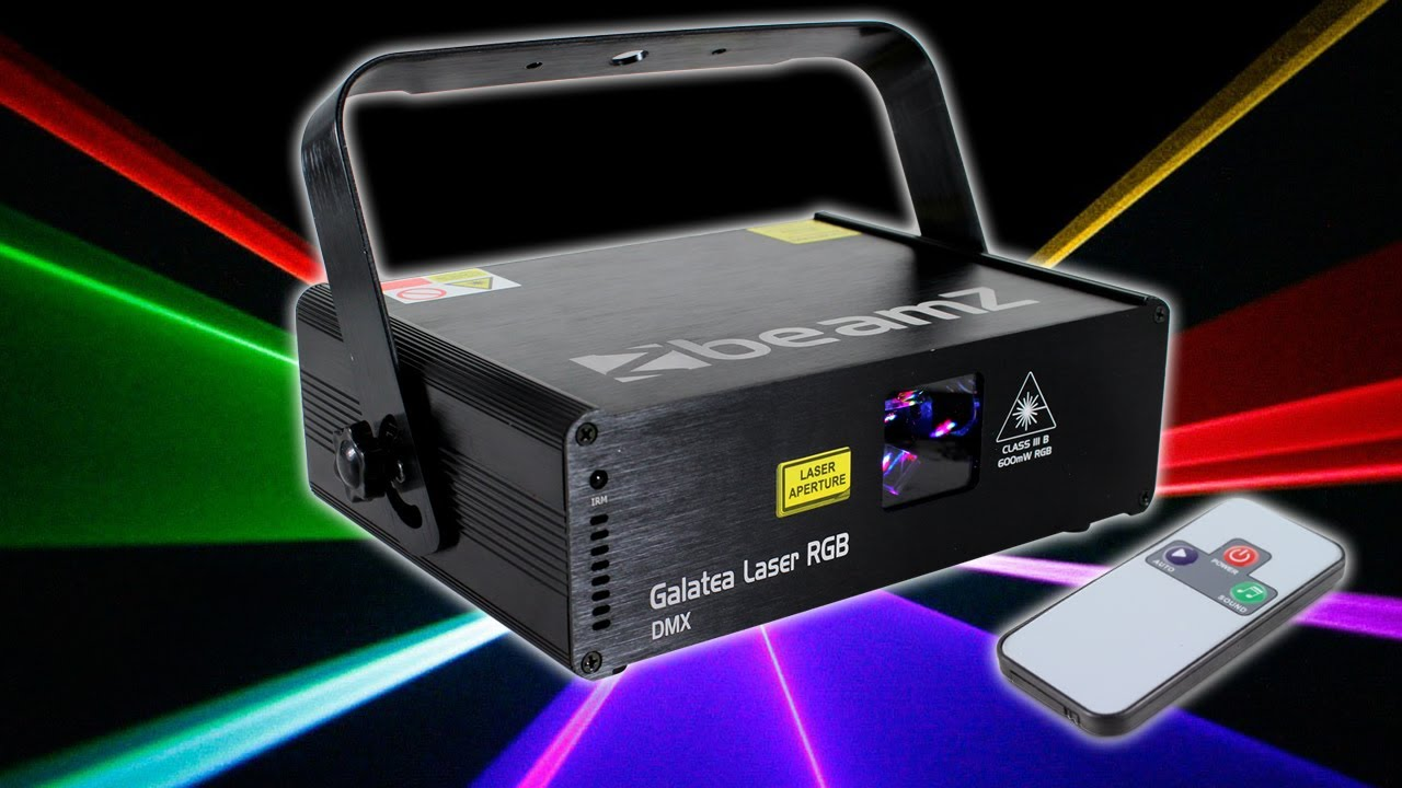 Beamz Galatea RGB DMX 600mW Pro Laser Light DJ Disco Party Club Stage Lighting Effect - YouTube & Beamz Galatea RGB DMX 600mW Pro Laser Light DJ Disco Party Club ... azcodes.com