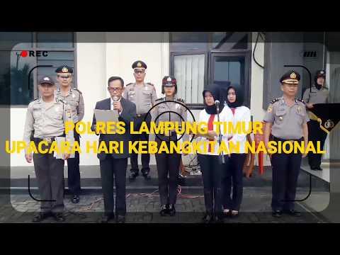 KAPOLRES LAMPUNG TIMUR AKBP TAUFAN DIRGANTORO MEMIMPIN UPACARA KEBANGKITAN NASIONAL Mp3