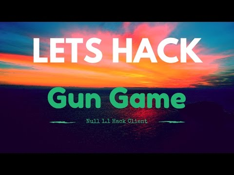 OLD SCHOOL HACKED CLIENT  - Minecraft Lets Hack: Gun Game #freealts xd