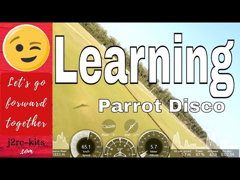 Pilot training (Tutorial) with Disco Parrot I, Foz do Rio Kwanza, Angola - Drone Disco Parrot