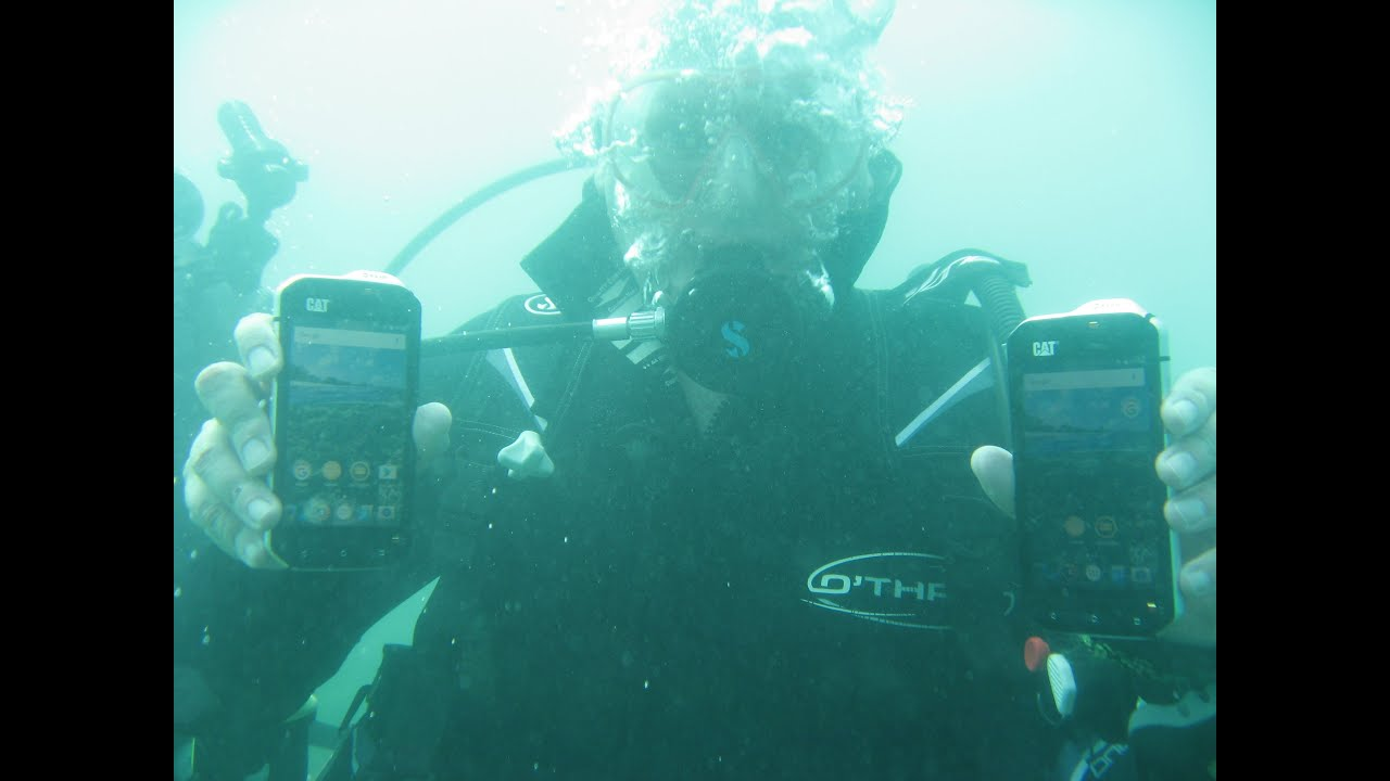 Scuba Diving with the Cat S60
