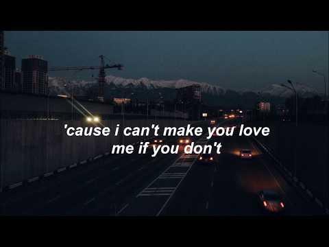 I Can't Make You Love Me // Dave Thomas Junior Lyrics