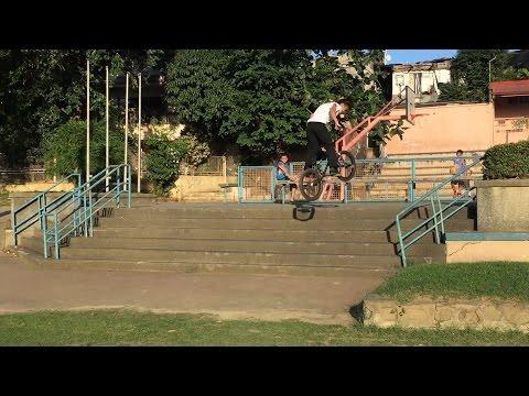 RIDING BMX IN THE STREETS OF MARIKINA!