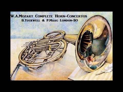 W.A.Mozart Complete Horn-Concertos [ B.Tuckwell & P.Maag London-SO ] (1959~61)