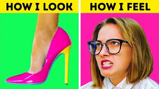 FUNNY GIRLY PROBLEMS YOU CAN RELATE  5-Minute Recipes To Overcome Fails!
