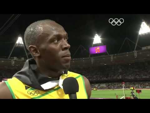 Athletics Men's 100m Final - Usain Bolt London 2012 - YouTube