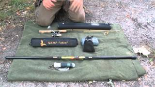 On the Waters Edge Part 1 Compact Fishing Rods and Systems
