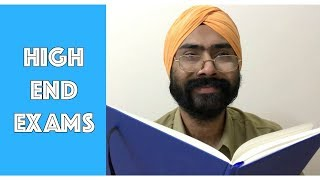 High End Exams | Harshdeep Ahuja