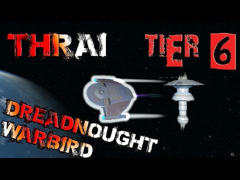 Thrai Dreadnought Warbird [T6] – with all ship visuals - Star Trek Online