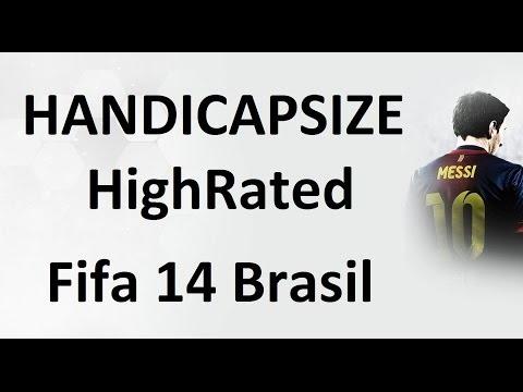 Fifa 14 Brasil - Ultimate Team - HandiCapsize - Time de Overall alto em Temporadas