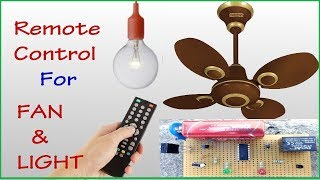 Video Control FAN and LIGHT using TV remote || without coding || (HOME AUTOMATION) download MP3, 3GP, MP4, WEBM, AVI, FLV September 2018