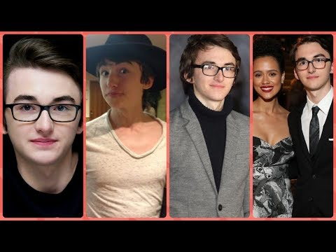 Isaac Hempstead Wright Brandon Stark in Game of Thrones Rare Photos  Family  Friends