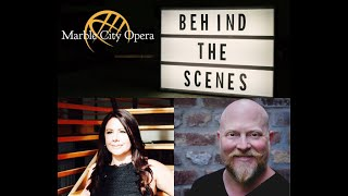 Behind the Scenes with Kathryn Frady and composer, Frank Pesci
