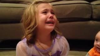 Cute Little Girl crying