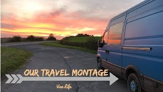 OUR 2017 TRAVEL MONTAGE || VAN LIFE