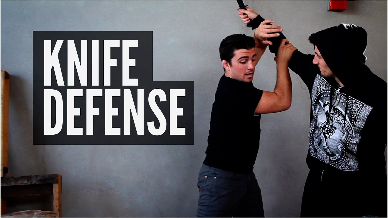 how to defend yourself from a person with a knife