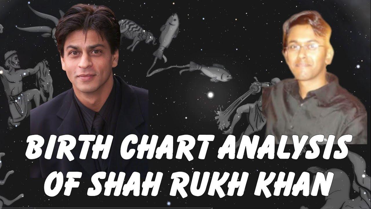 Birth Chart analysis of Shah Rukh Khan   Kundli Vishleshan