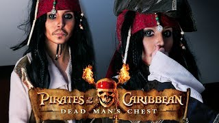 Jack Sparrow Make Up Tutorial [ Pirates of the Caribbean ] by Anastasiya Shpagina