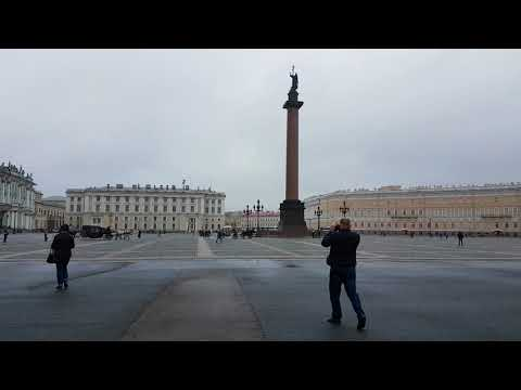 Palace Square in St. Peterburg