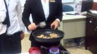 Bò đốt rượu (Flambé Technique) - Part 2 - [720p]