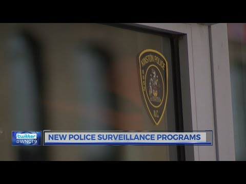 Security camera programs at Kinston, Snow Hill police departments