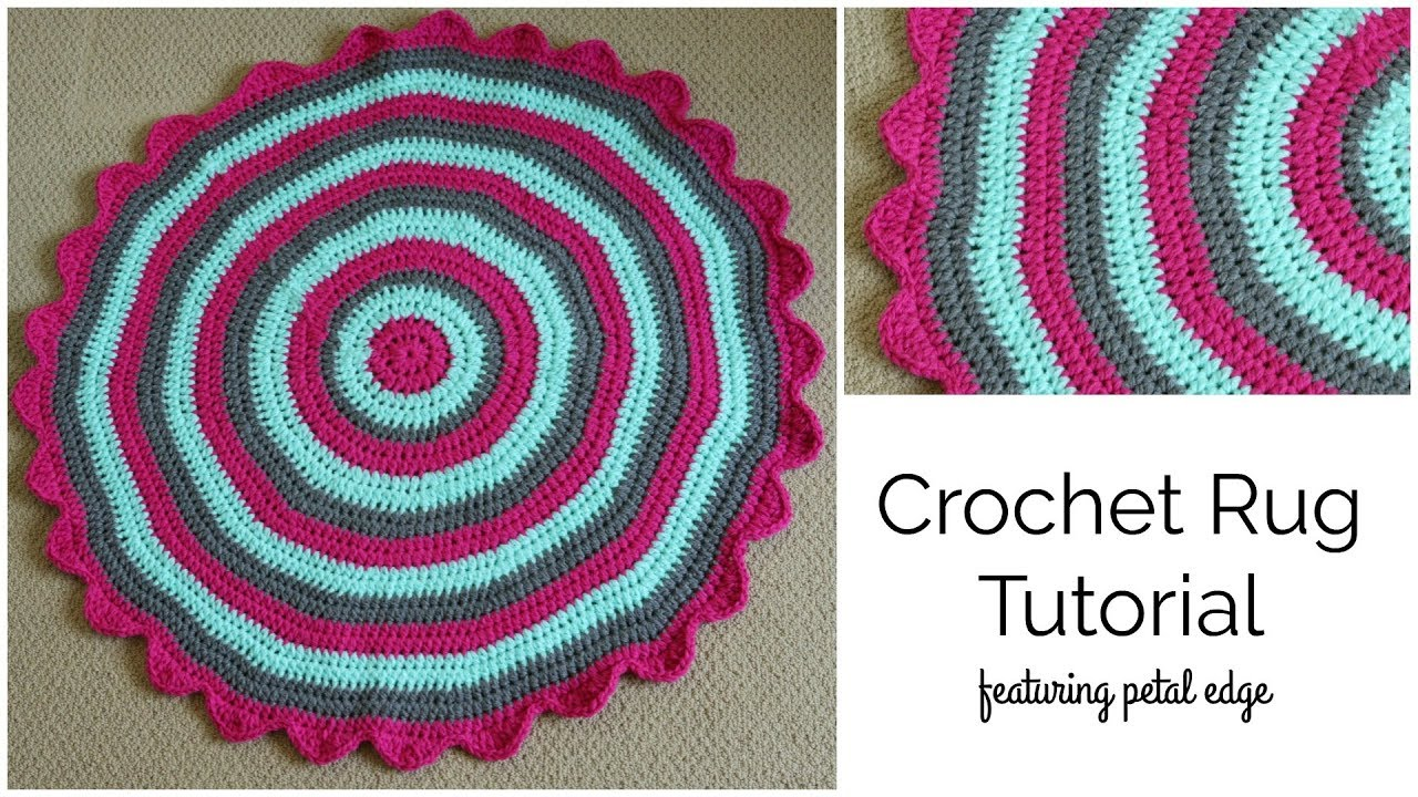 Crochet Rug Tutorial