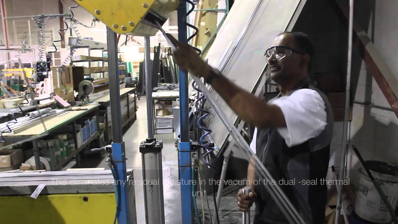 Dual-seal Thermal Glass Process - YouTube