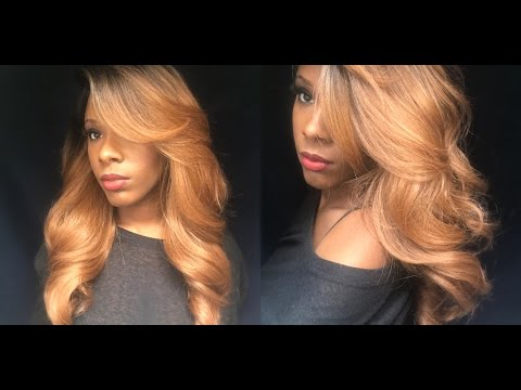 SENSATIONNEL EMPRESS SYNTHETIC CUSTOM LACE FRONT EDGE WIG - PERM ROMANCE * Hair So Fly *