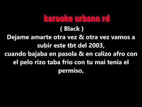 Mas Que Amor Ft. Bulova , Quimico UltraMega, Black Jonas Point karaoke