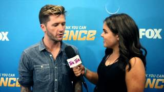 TRAVIS WALL SO YOU THINK YOU CAN DANCE INTERVIEW AUG 20! SYTYCD TRAVIS WALL