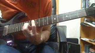 Guitar Video Log 23 - Stone Dead Forever (Motorhead)