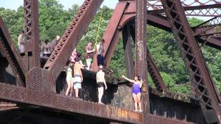Bridge Jump 2011 - Black Bridge PA