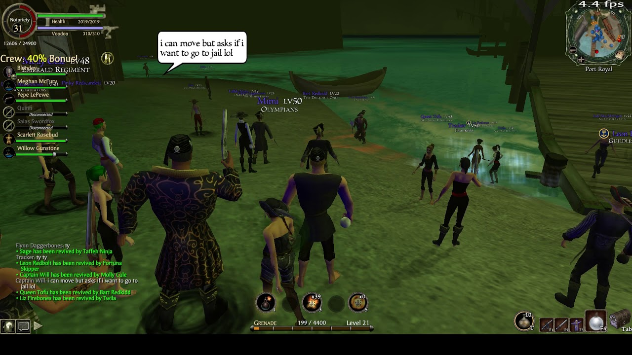 The Legend of Pirates Online: Jolly Roger Invasion - Port Royal