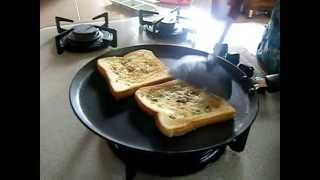 Homemade garlic bread toast