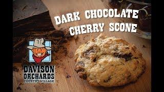 Family Recipes: Dark Chocolate Cherry Scones