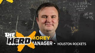 Rockets GM Daryl Morey explains Chris Paul to Houston trade | THE HERD