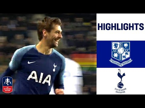 Tranmere 0-7 Tottenham | Llorente gets a Hat-Trick as Spurs Strike 7! | Emirates FA Cup 18/19