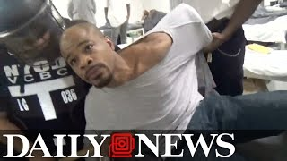 Fight inside Rikers Island prison