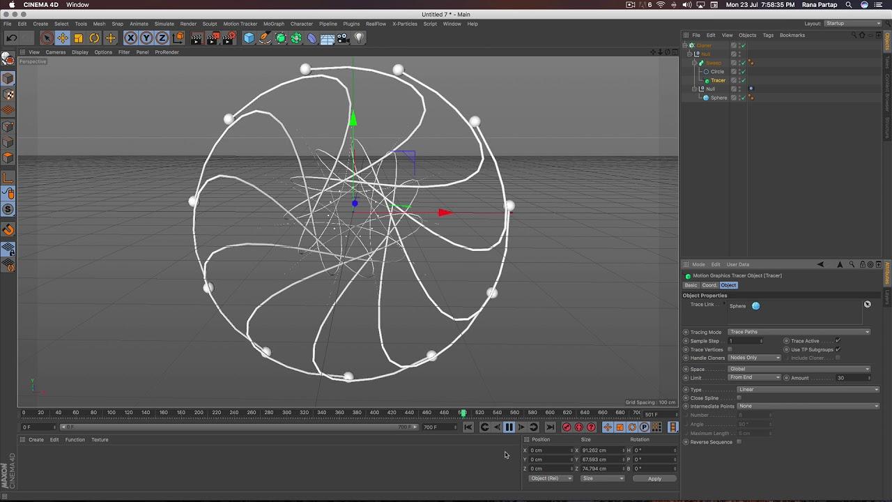 3D Loop Animation Making in Cinema 4D Tutorial