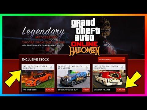 GTA 5 Online Halloween 2019 DLC Update - FREE Items, Peyote Plants, RARE Vehicles & ALL NEW Content!