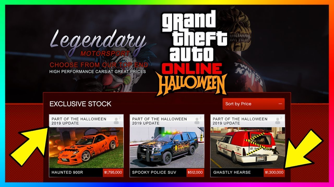 Halloween Horn Gta 5 2020 GTA 5 Online Halloween 2019 DLC Update   FREE Items, Peyote Plants