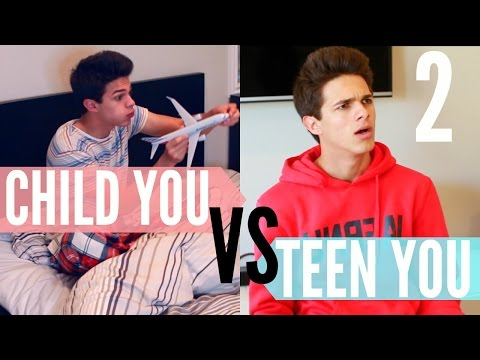 Child You VS Teen You 2! | Brent Rivera