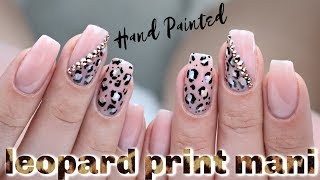 HOW TO: PURPLE LEOPARD PRINT GEL MANICURE | LUMINARY NAIL SYSTEMS