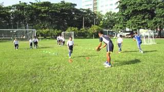 Dạy bóng đá trẻ em - bài tập kỹ thuật đánh đầu